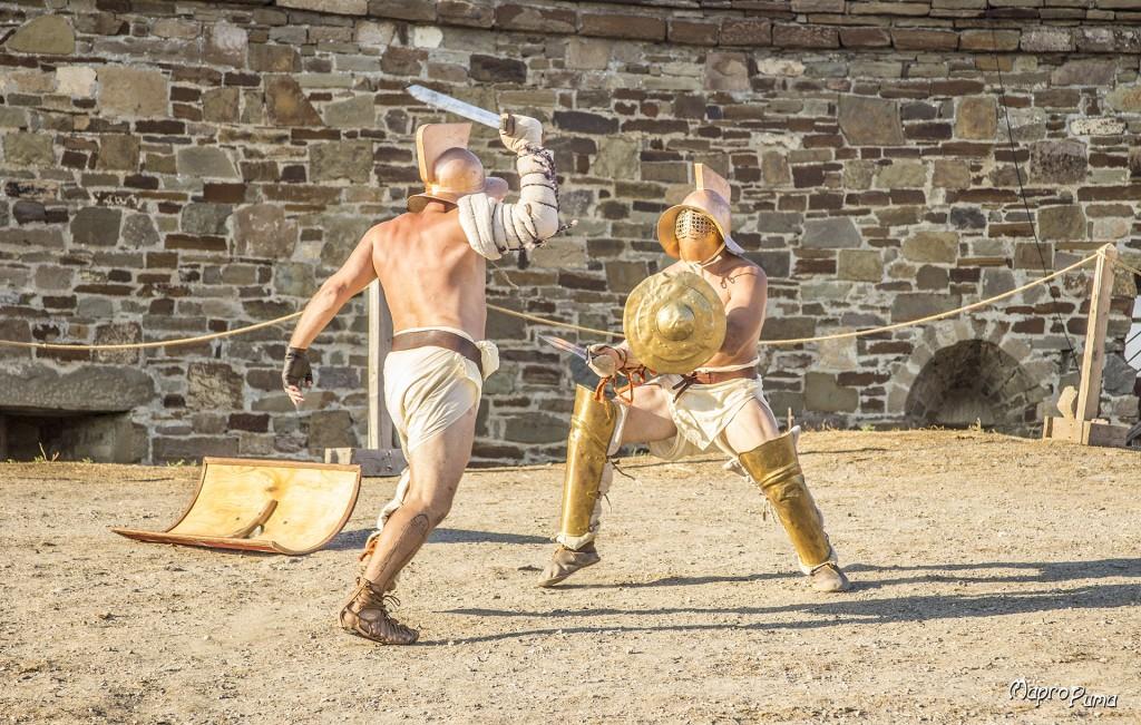 Гладиаторские бои в Судаке