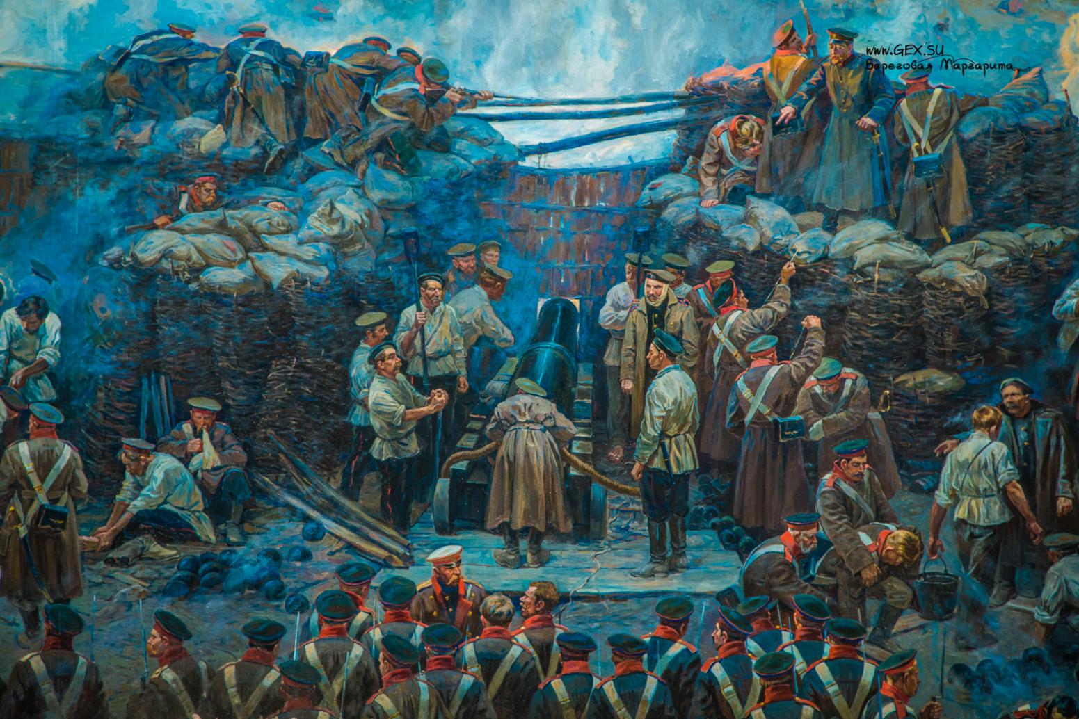 Панорама Рубо в Севастополе