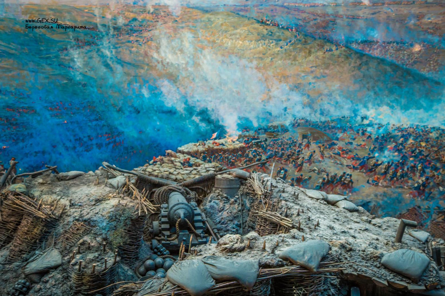 Панорама Рубо Первой обороны Севастополя