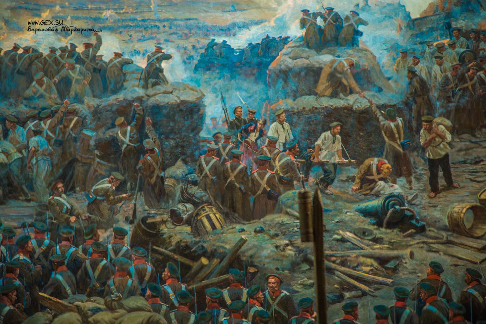 Панорама «Оборона Севастополя 1854–1855 гг.»