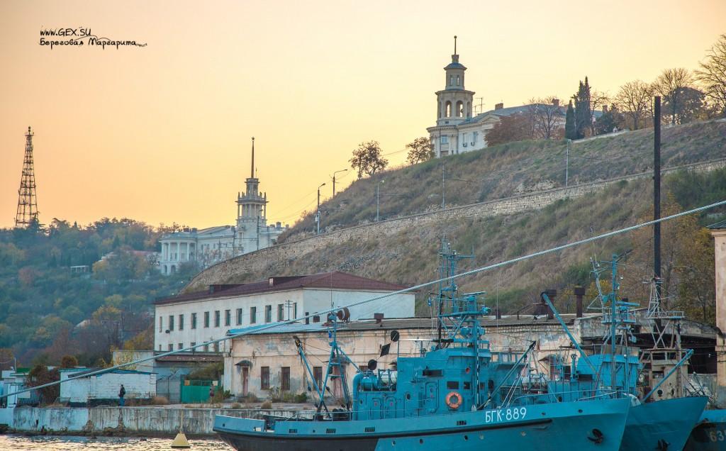корабельная бухта в Севастополе