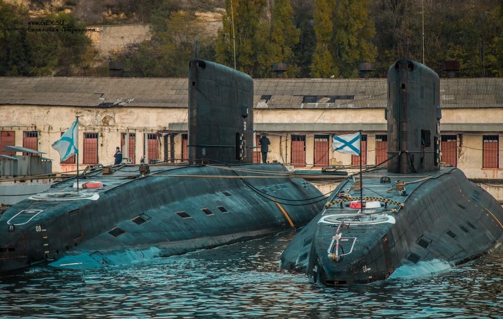 подводные лодки в севастополе
