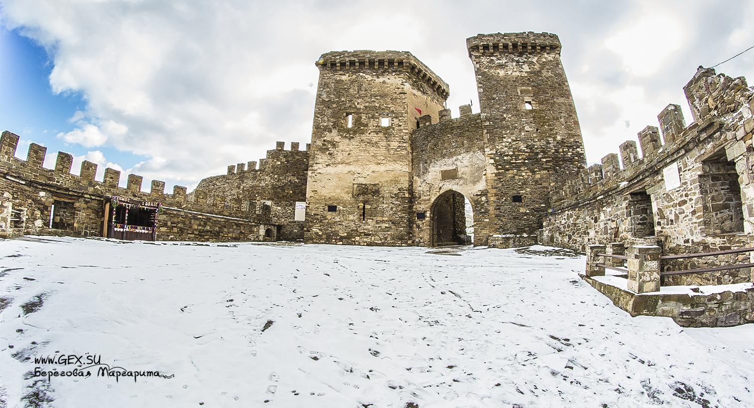 Генуэзская крепость в Крыму
