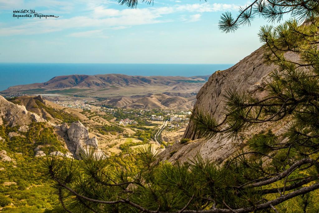 Вид с горы Носорог