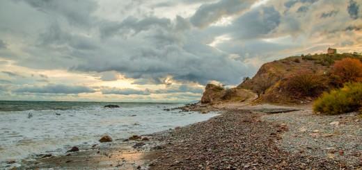 Пляж у Пастушьей башни