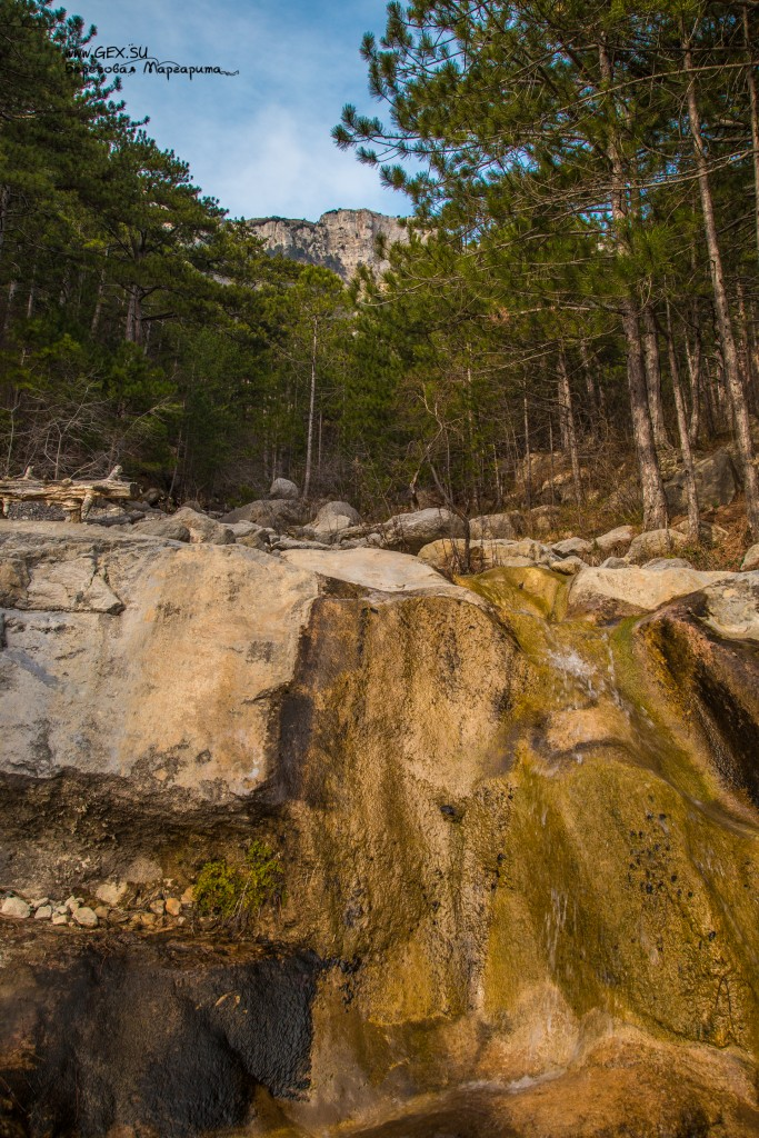водопад на Яузларе
