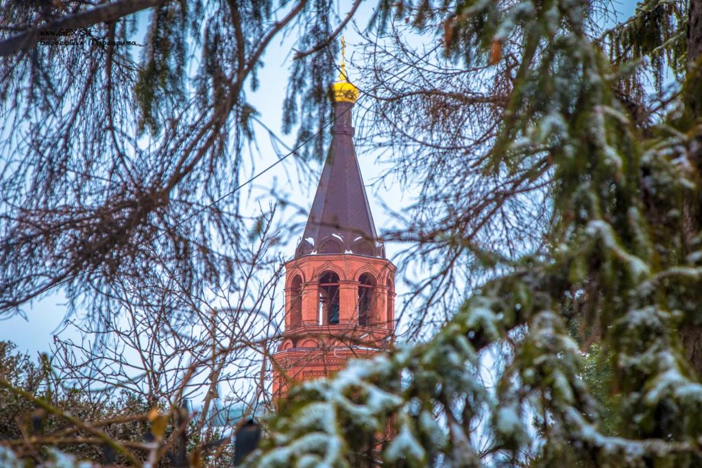 Колокольня в Топловском монастыре
