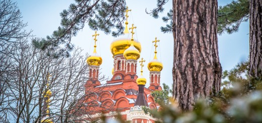 Троицкий собор в Топловском монастыре