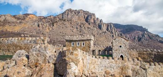 Макет крепости крепости Фуна