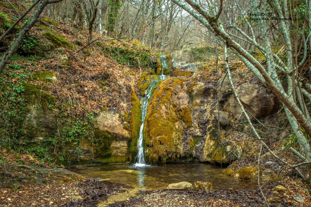 Водопады а реке Алака
