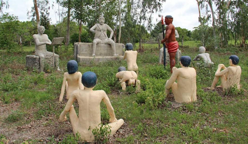 Тайские монахи, мечтающие захватить мир