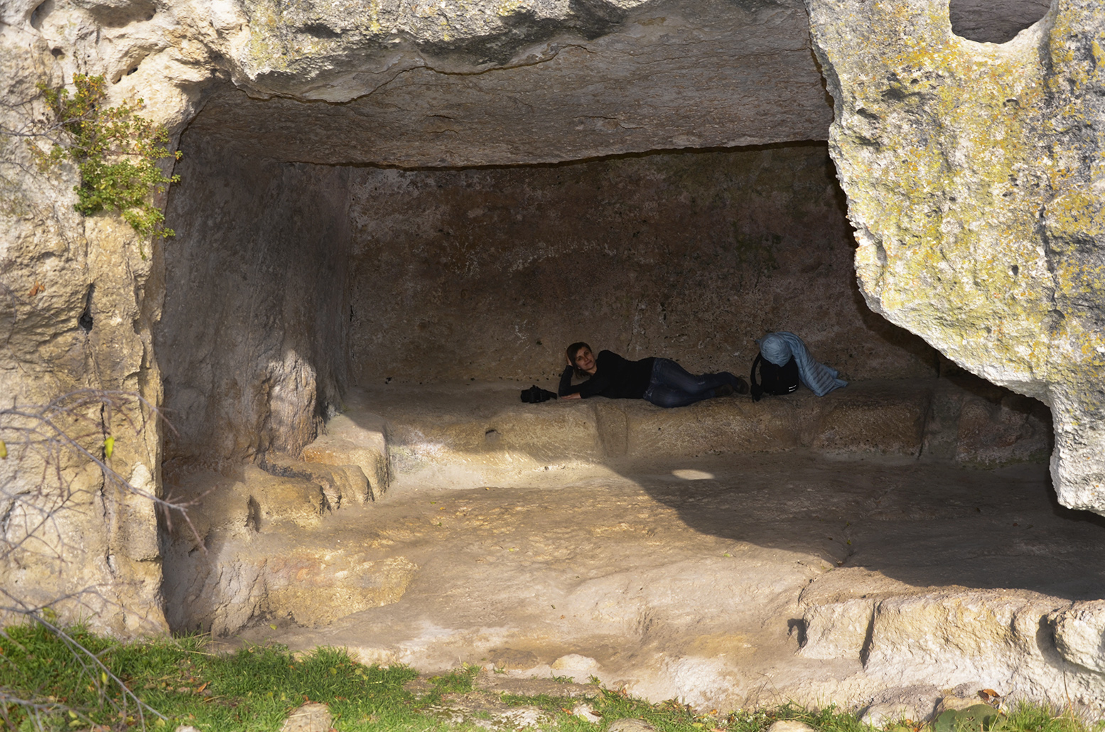 пещерный город