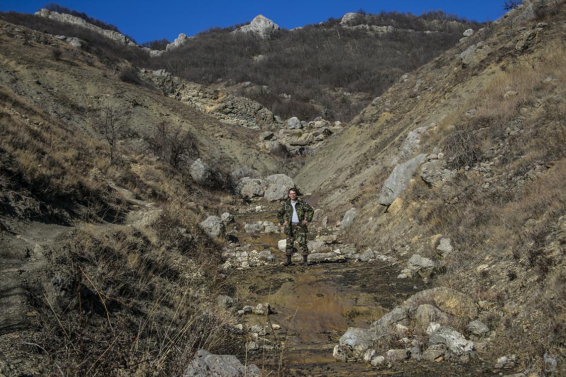 Арпатская долина и водопад