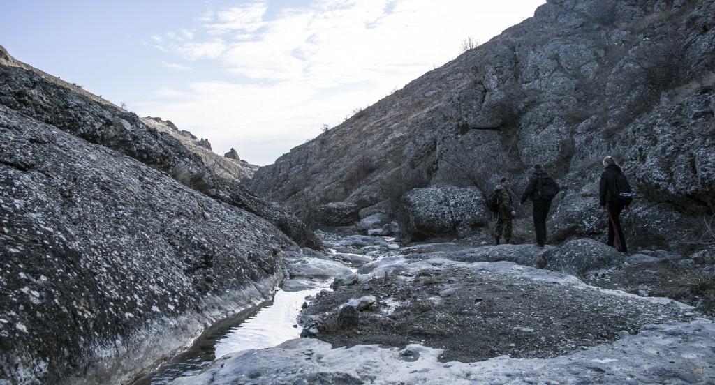 Арпатская долина зимой
