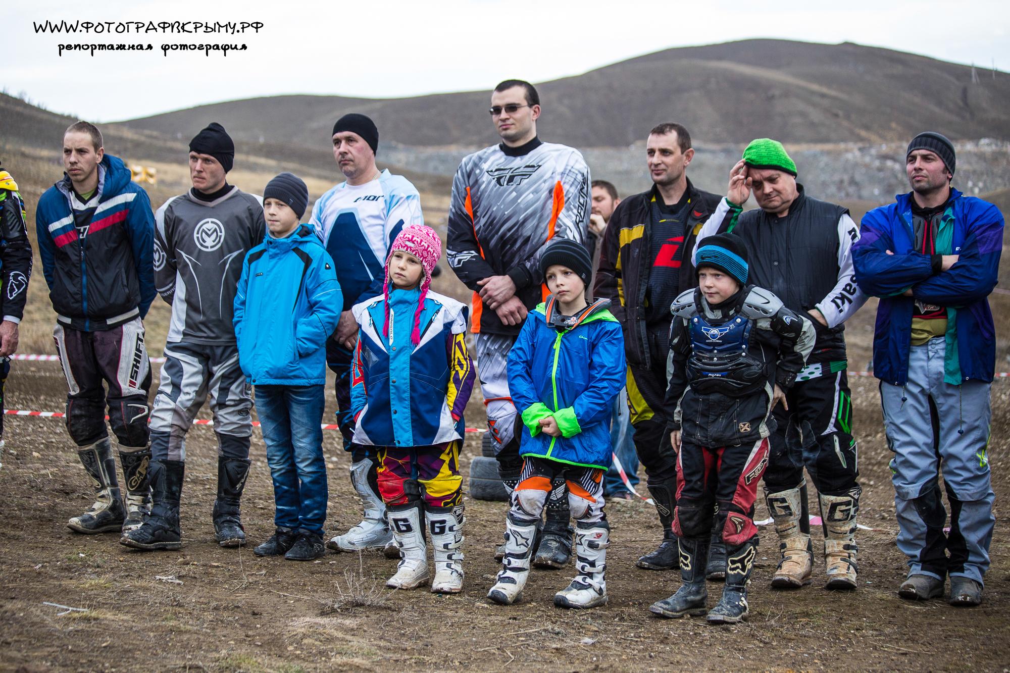 1ый этап Чемпионата Крыма по мотокроссу
