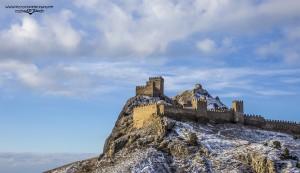 Генуэзская крепость в феврале