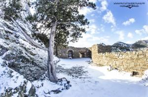 Зимняя крепость в Крыму