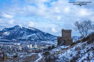 консульский замок зимой