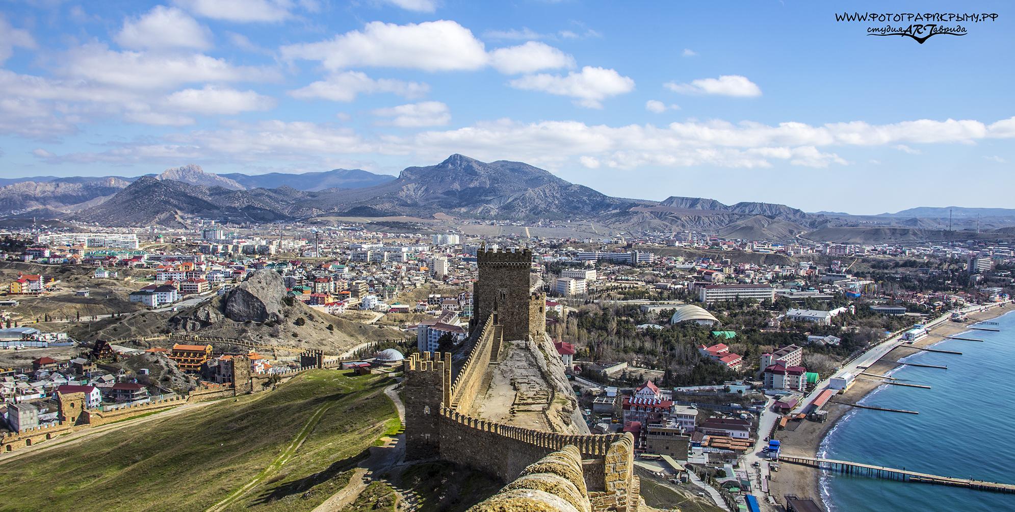 Консульский замок и крепостная стена