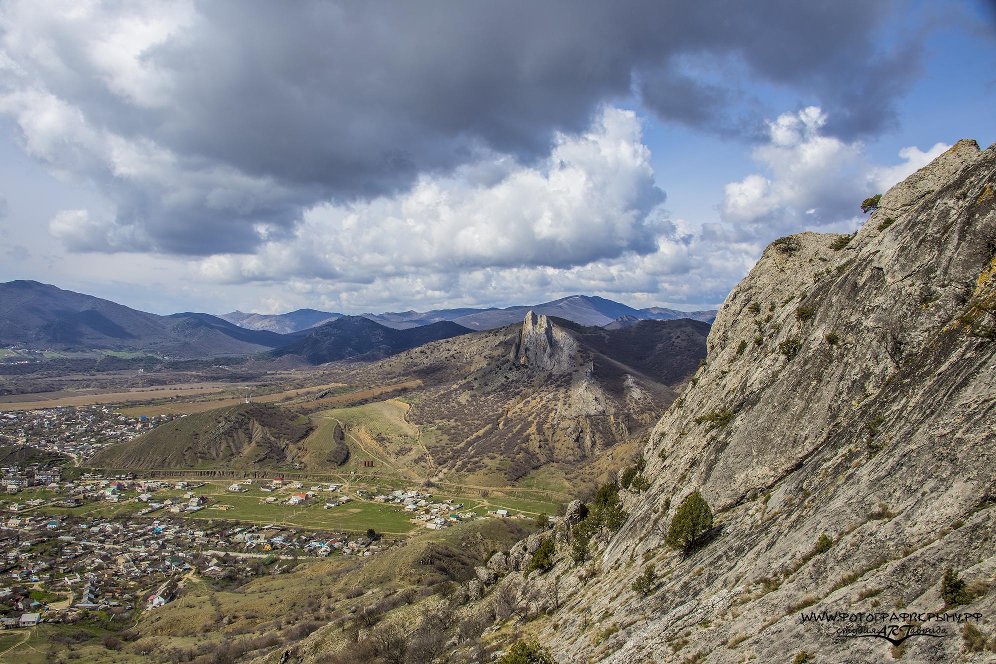 Гора Таракташ Судак