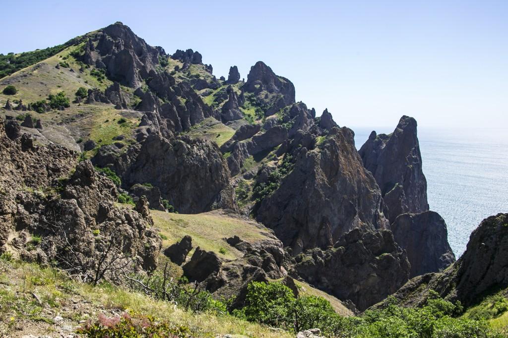 Потухший вулкан - Карадаг