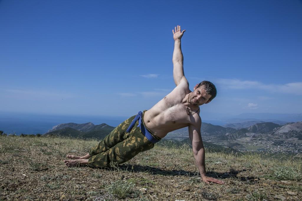 йога с юрой на перчеме