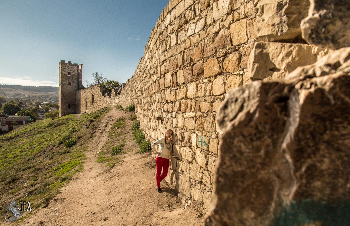 Генуэзскую крепость в Феодосии