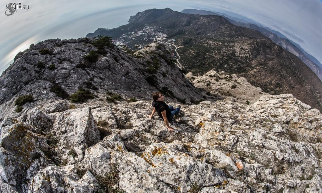Вершина горы Сокол