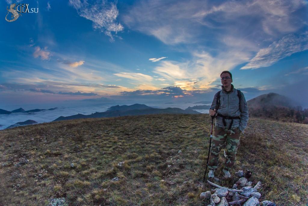 Вершина горы Денгы-Баши-Каясы