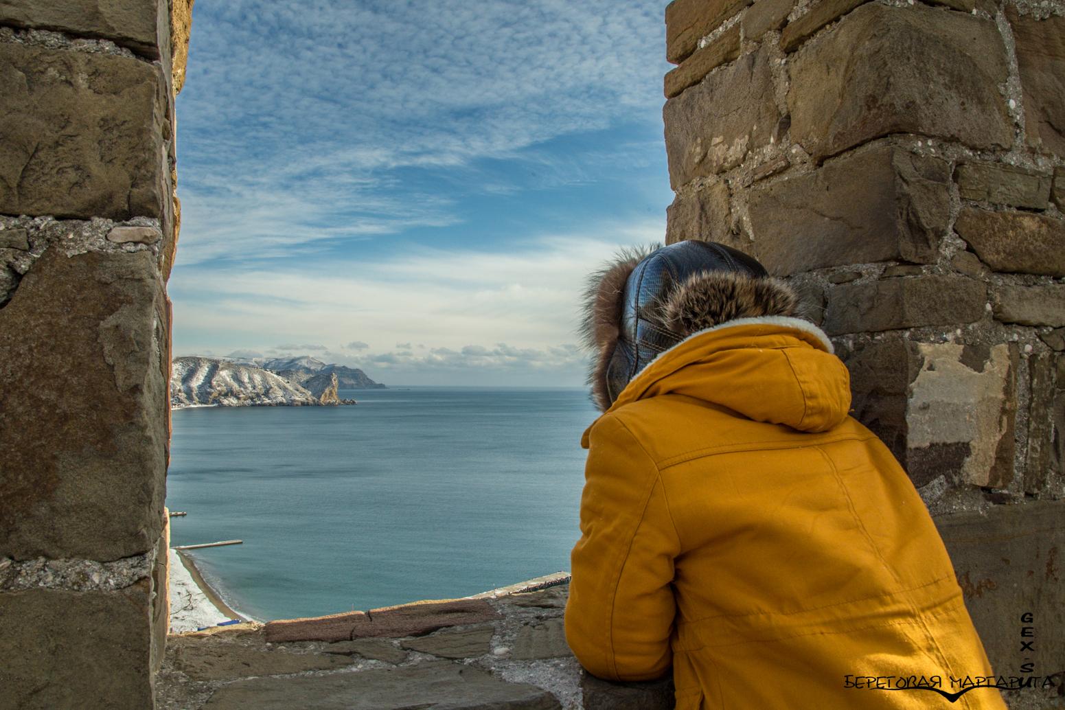 Вид с Генуэзской крепости