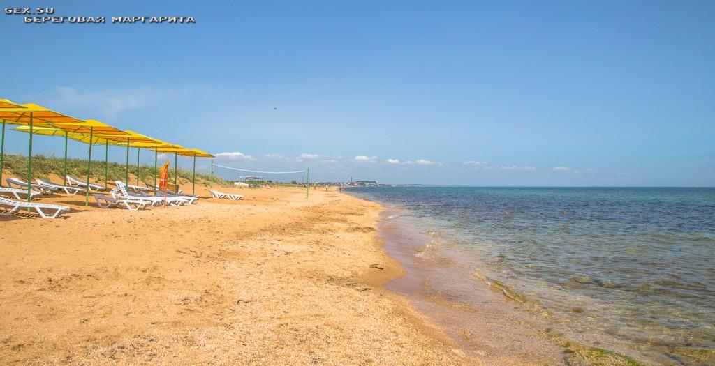 пляж в с. Береговое