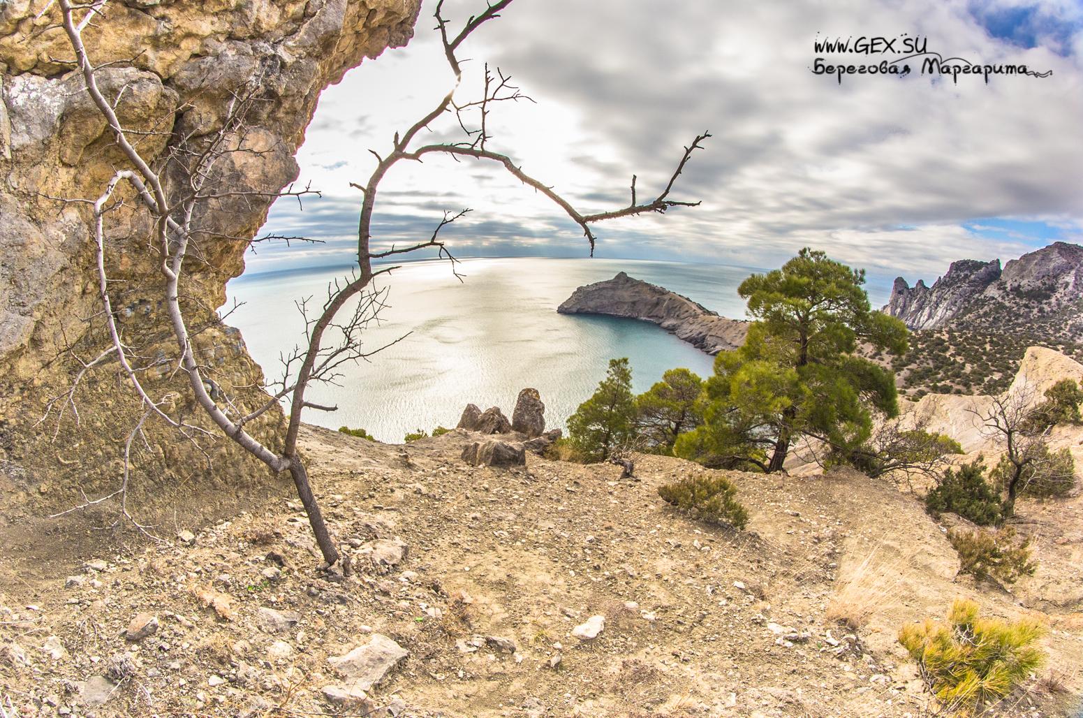 вид с горы Коба -Кая