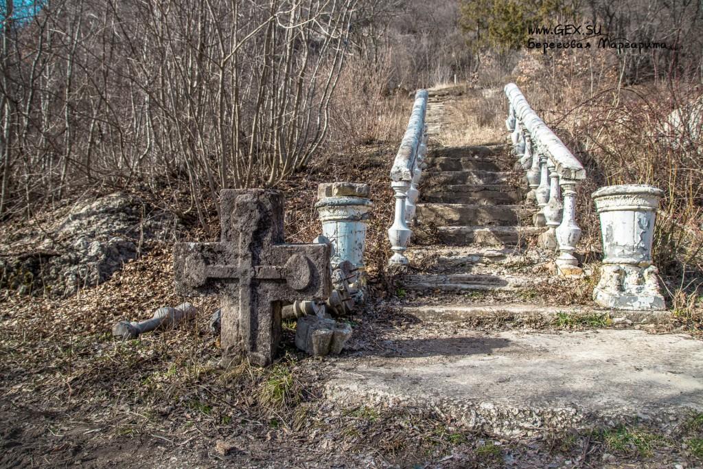 лестница к кладбищу