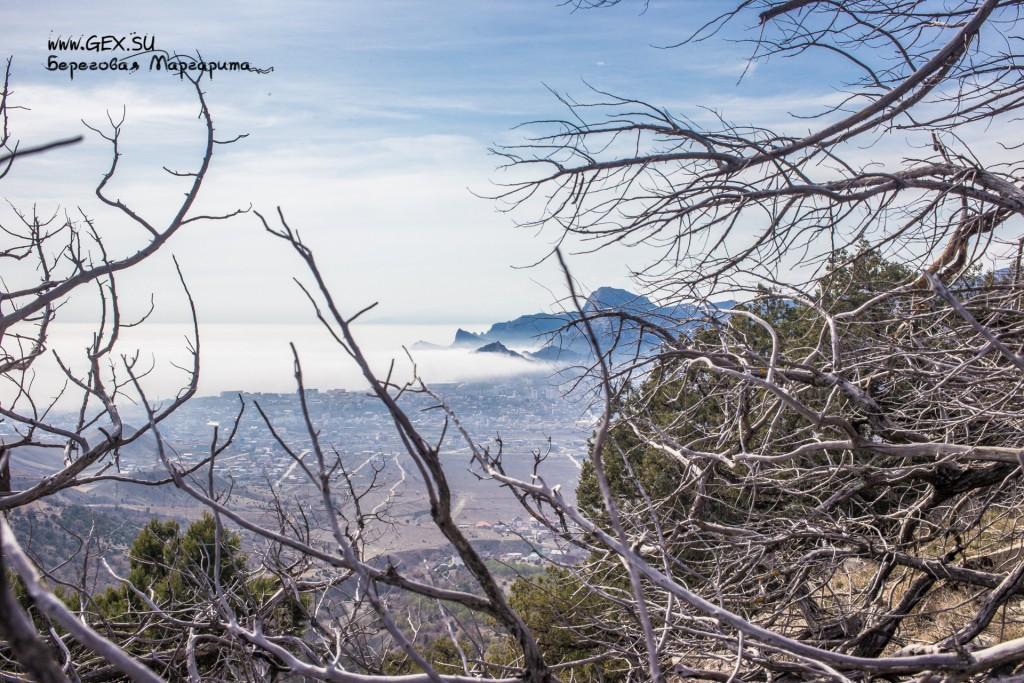 туман в Судаке