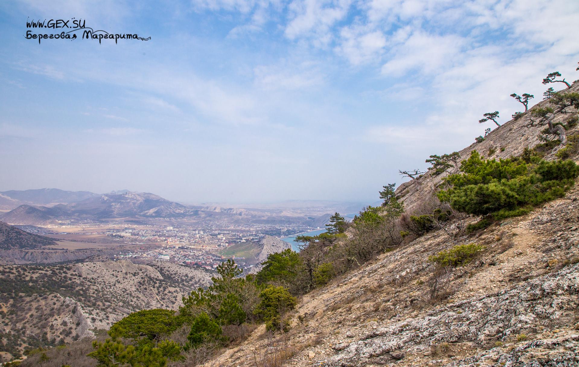 Вид с вершины Сокола