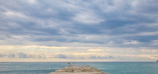 пляж за алчаком