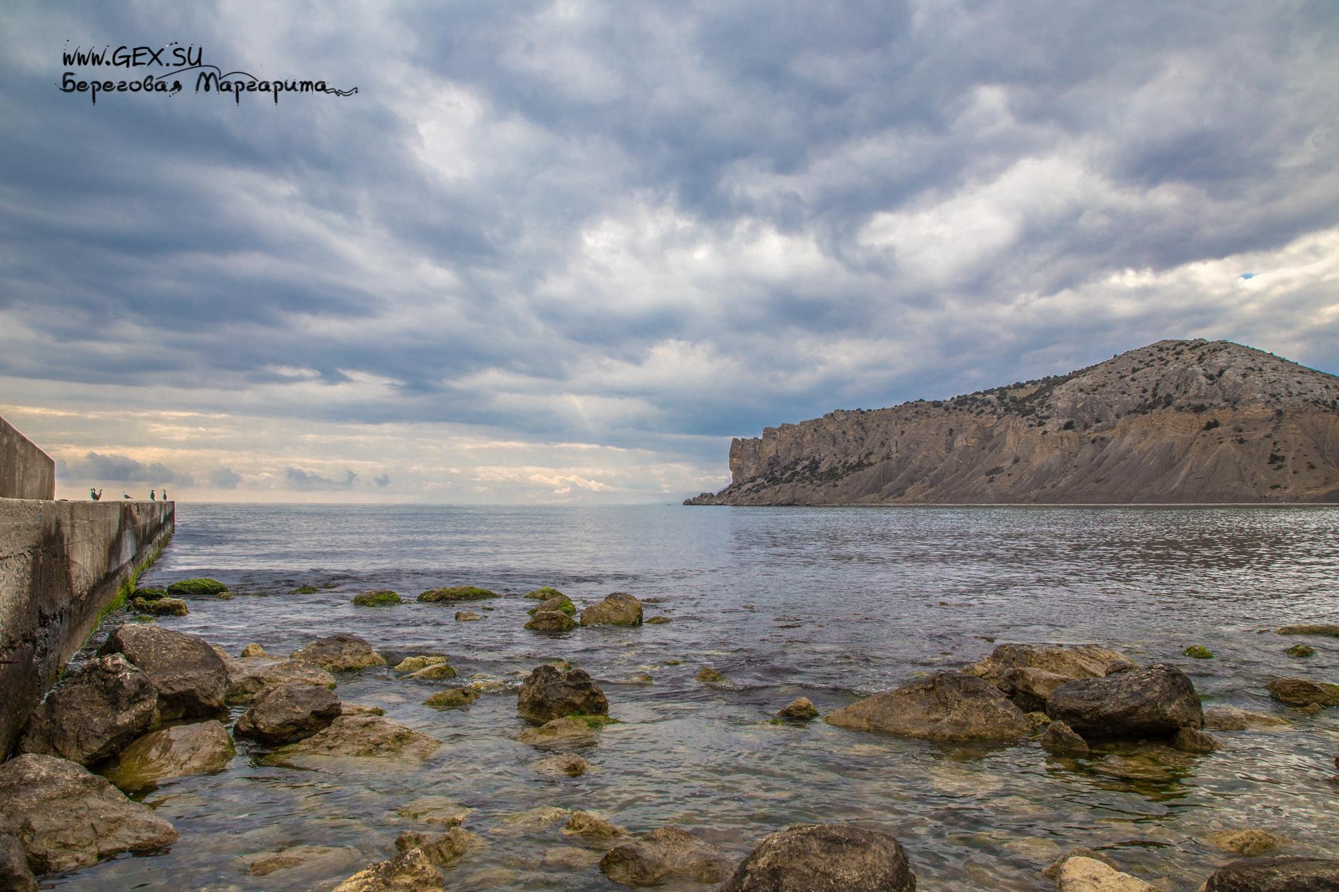 море в Судаке