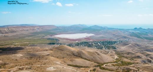 Озеро Бараколь с вершины