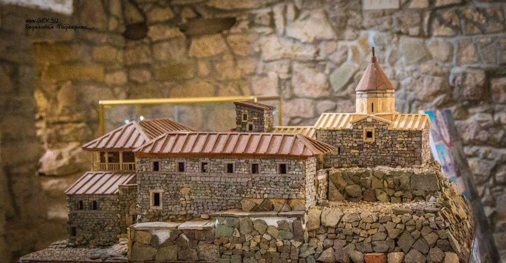 Макет монастыря Сурб Хач