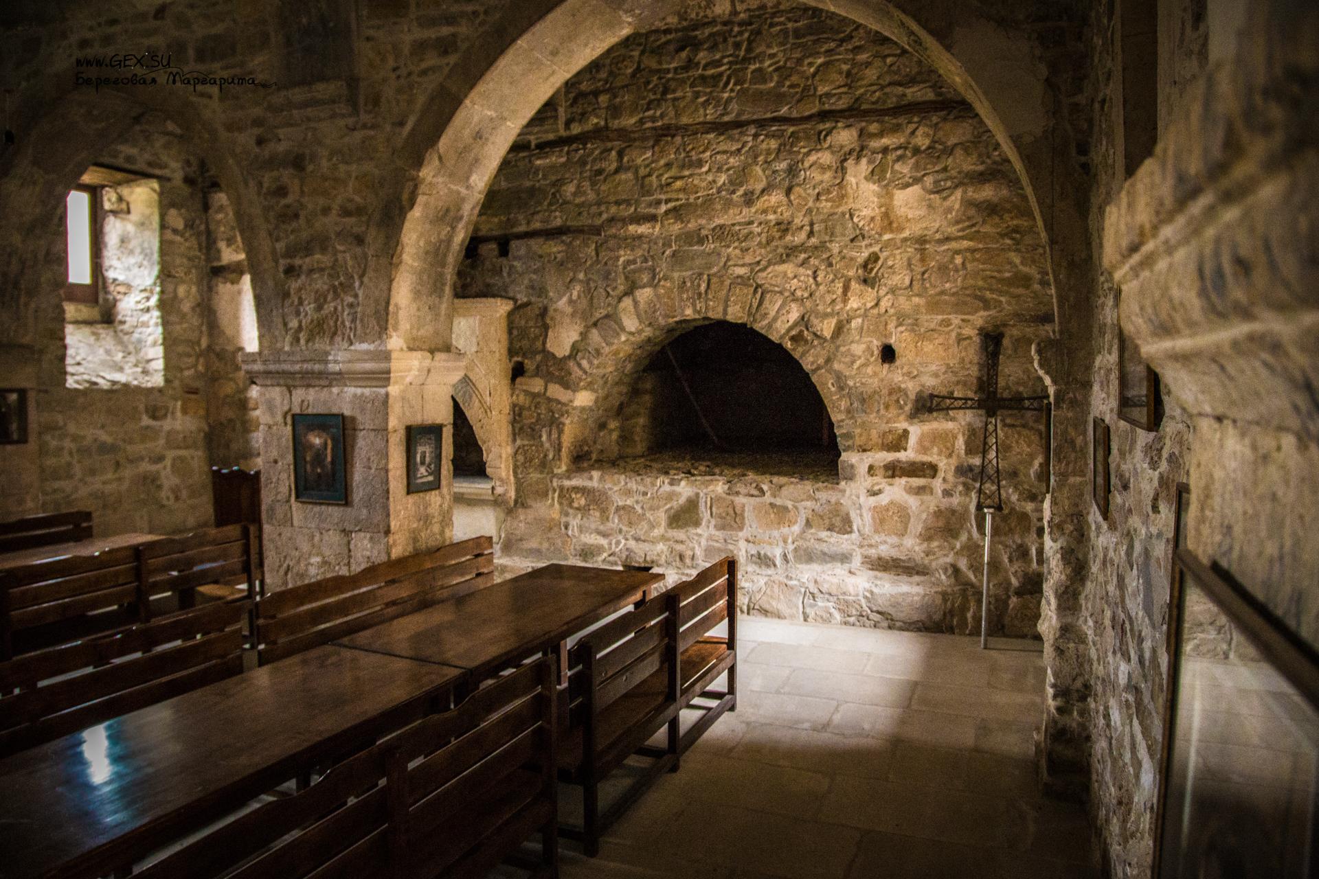 Трапезная в монастыре Сурб Хач