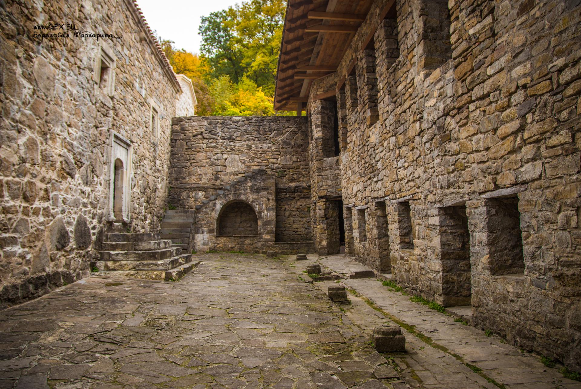 келии в монастыре Сурб Хач