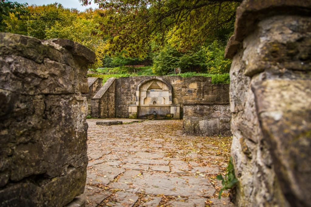 Источник в монастыре Сурб Хач