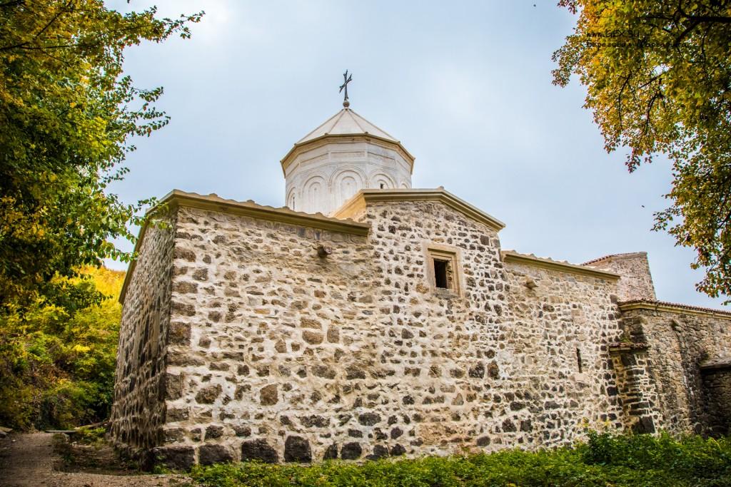 Храм в армянском монастыре Сурб Хач