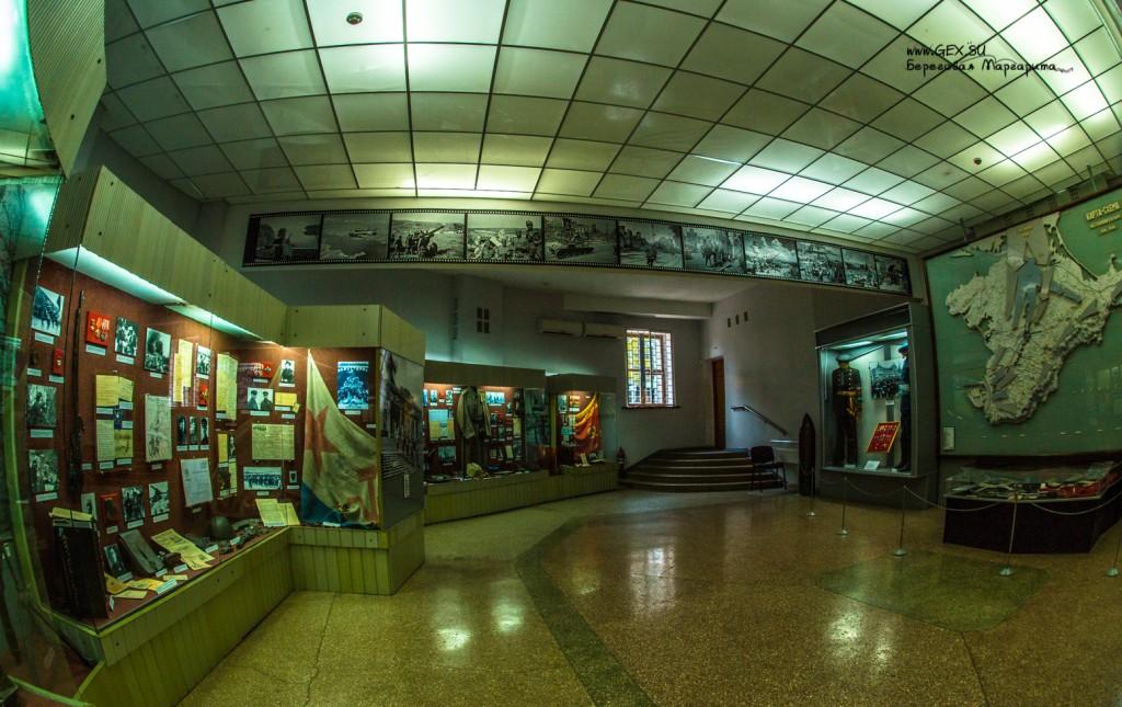 музей в здании диорамы на сапун горе