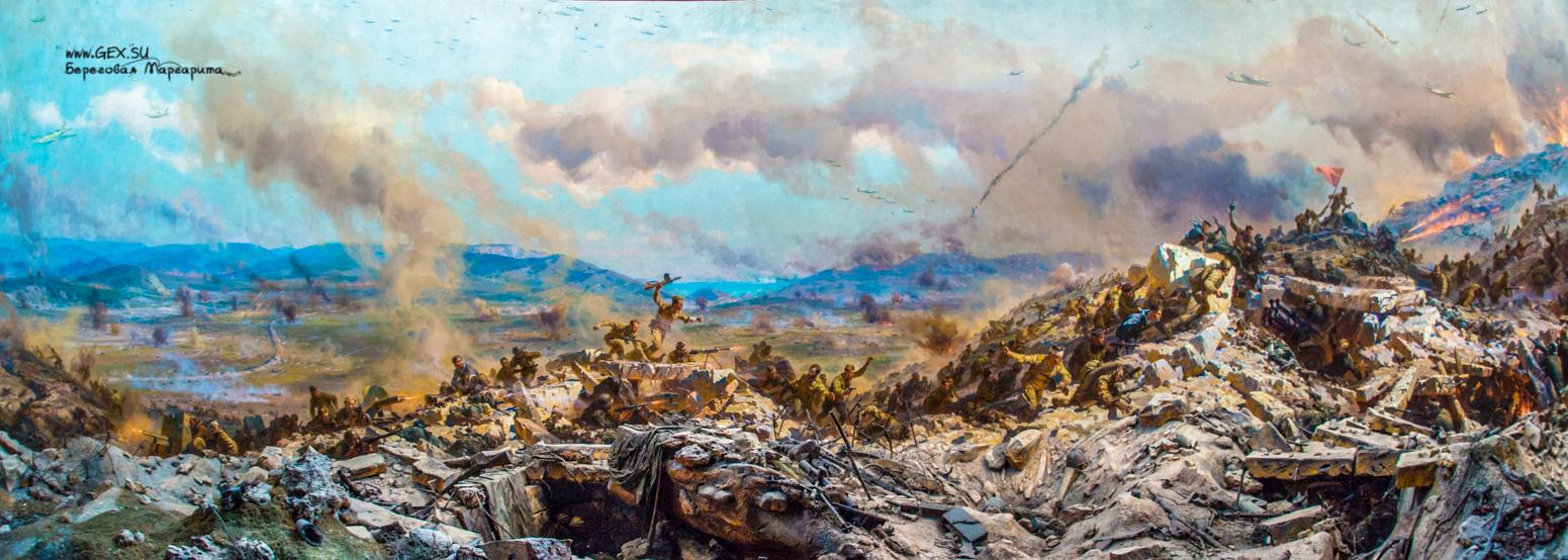 Диорама «Штурм Сапун-горы 7 мая 1944 г.»