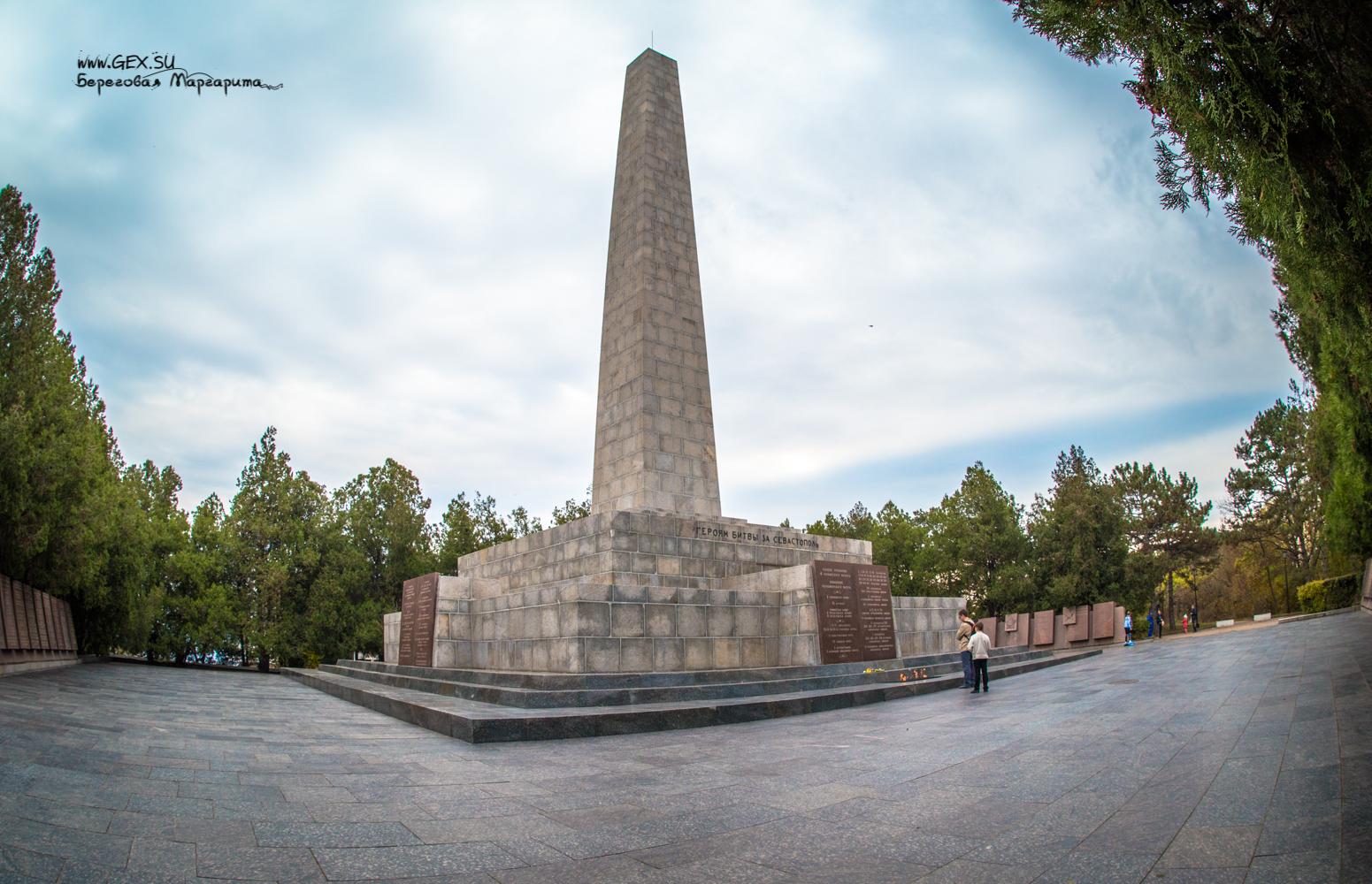 Памятник Славы воинам на Сапун горе
