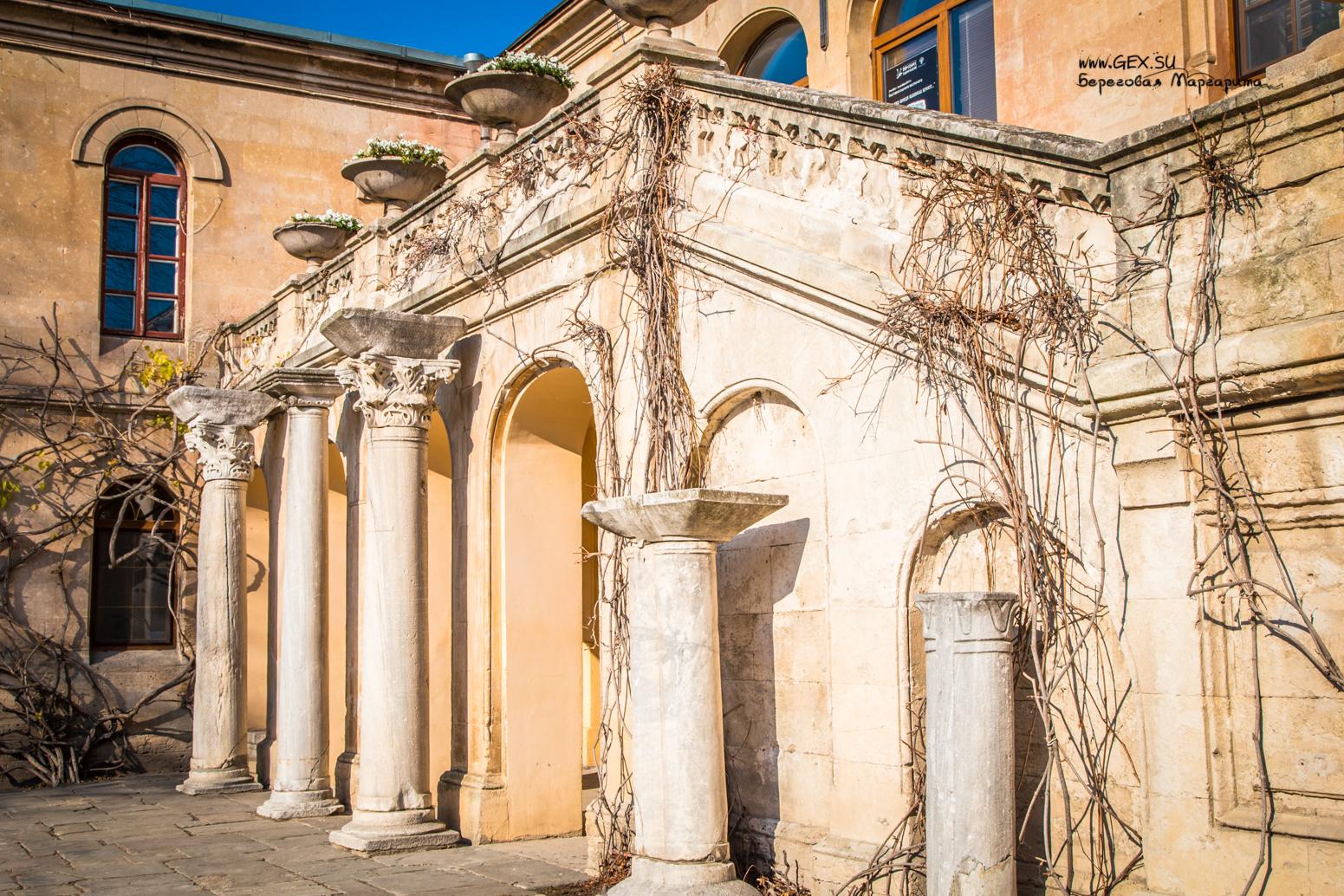 Итальянский дворик в Севастополе