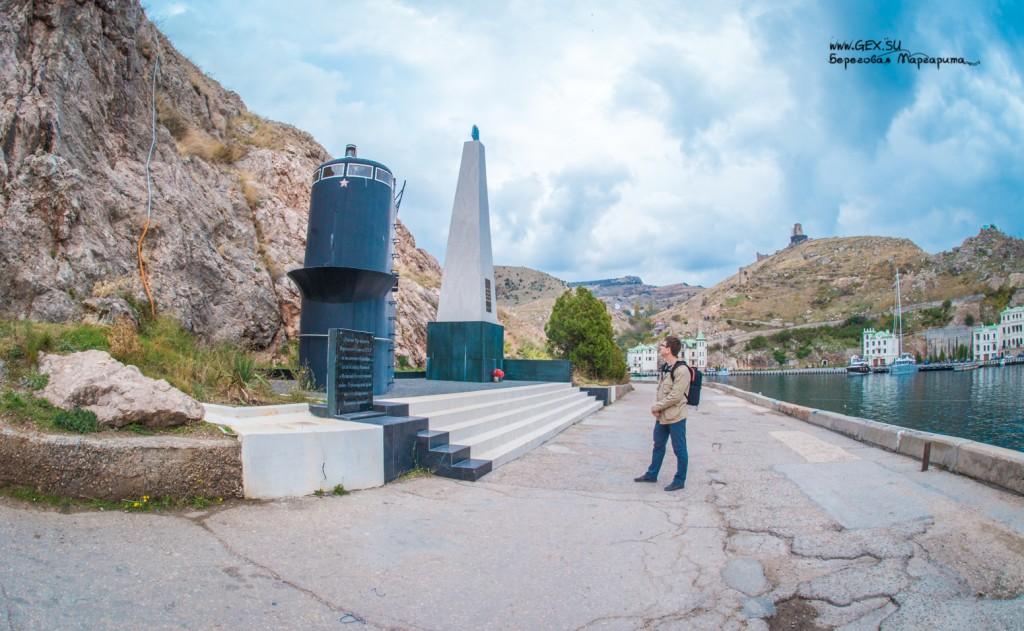 памятник в балаклаве