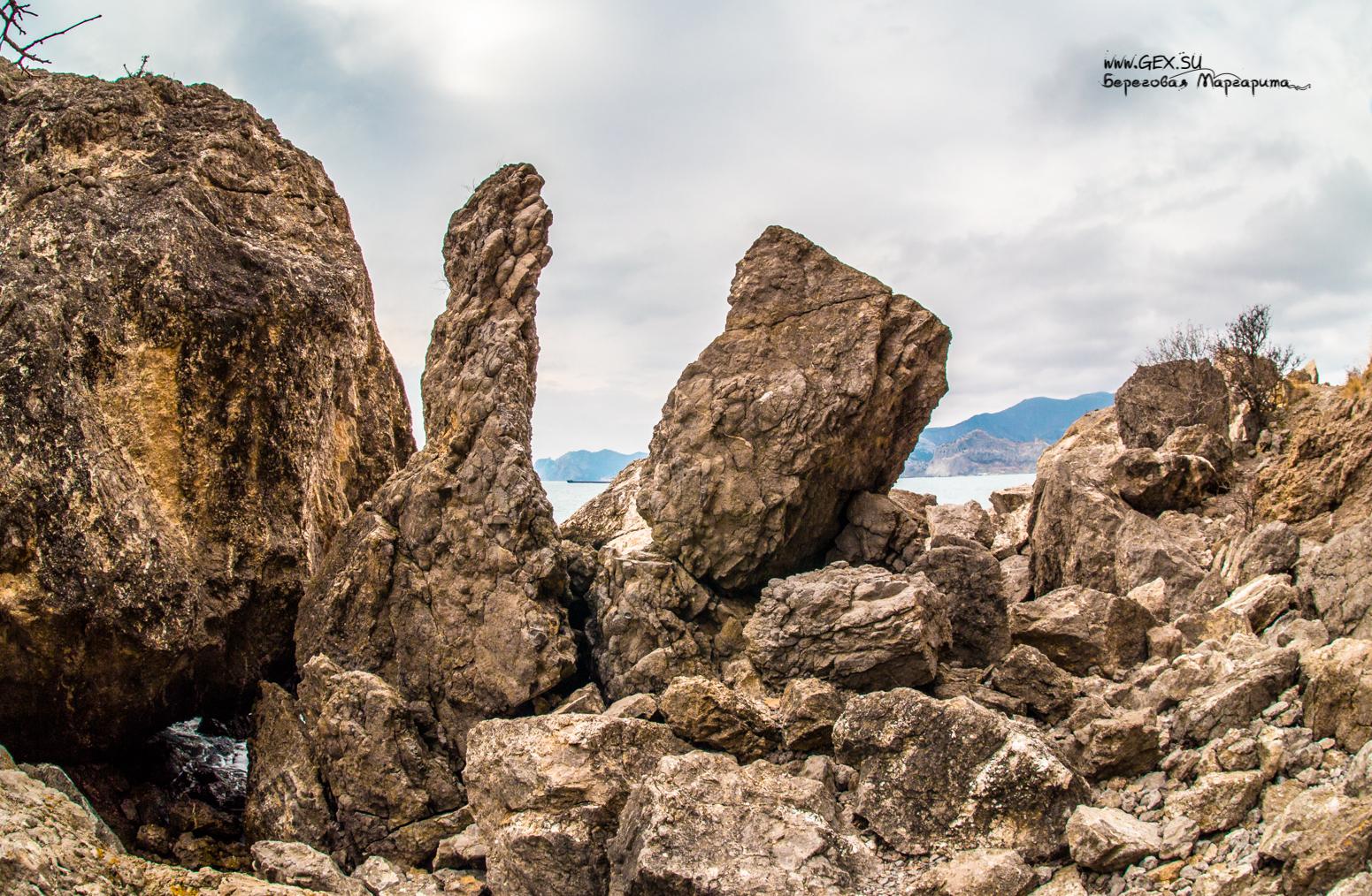 каменные завалы на Алчаке