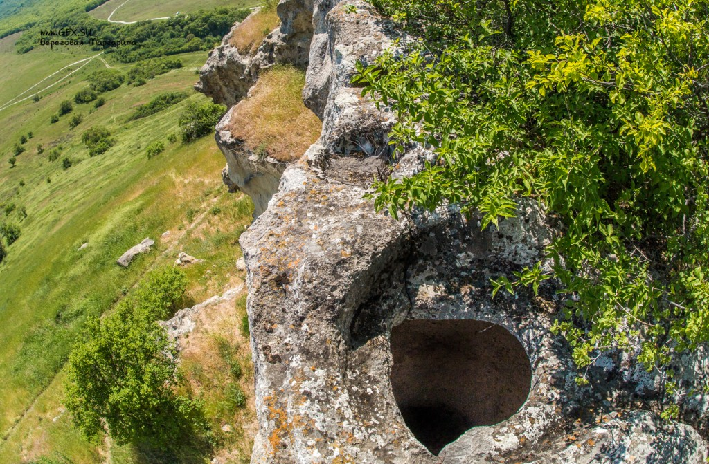 пещерный город в Крыму